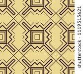 abstract art deco seamless...   Shutterstock .eps vector #1119515621