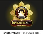 gold shiny badge with... | Shutterstock .eps vector #1119531401