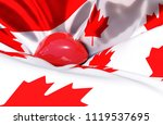 canada day canadian... | Shutterstock . vector #1119537695