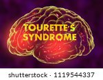 tourette's syndrome  medical... | Shutterstock . vector #1119544337
