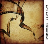 abstract composition of movie... | Shutterstock . vector #111954695