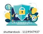vector colorful illustration ... | Shutterstock .eps vector #1119547937