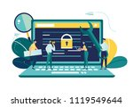 vector colorful illustration ... | Shutterstock .eps vector #1119549644