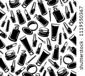 background cosmetics set. vector | Shutterstock .eps vector #1119550367