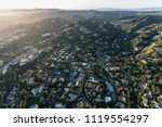 aerial view of holmby hills and ... | Shutterstock . vector #1119554297