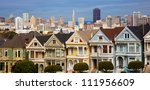 Famous Victorian Row Houses In...