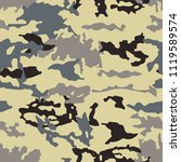fashionable camouflage pattern  ... | Shutterstock .eps vector #1119589574