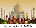 Taj Mahal In Sunset Light  Agr...