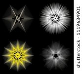 symbols of sacred geometry ... | Shutterstock .eps vector #1119634901