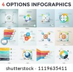 collection of modern... | Shutterstock .eps vector #1119635411