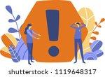 business concept vector... | Shutterstock .eps vector #1119648317