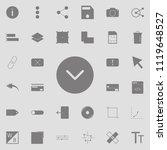 check ok icon. detailed set of...