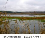 beautiful wetland lake in the... | Shutterstock . vector #1119677954