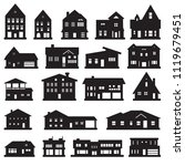 buildings  home and house icon...   Shutterstock .eps vector #1119679451