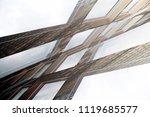 multilevel grid structure....   Shutterstock . vector #1119685577