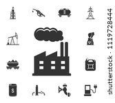 refinery icon. simple element... | Shutterstock .eps vector #1119728444