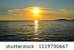 sunset over the sea | Shutterstock . vector #1119730667