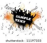grunge disco fans | Shutterstock .eps vector #11197333