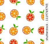 cute seamless pattern of... | Shutterstock .eps vector #1119769745