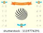 logo design. earth   Shutterstock .eps vector #1119776291
