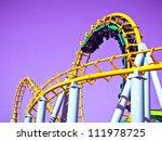 rollercoaster   Shutterstock . vector #111978725
