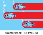 fish | Shutterstock .eps vector #11198323