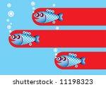 fish | Shutterstock .eps vector #11198323
