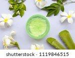 natural herbal soothing gel... | Shutterstock . vector #1119846515