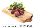 fresh beetroot in front of...   Shutterstock . vector #1119854381