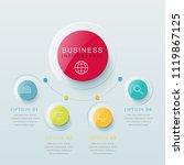 presentation business...   Shutterstock .eps vector #1119867125