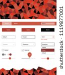 light red vector material...