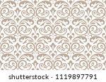 floral pattern. vintage... | Shutterstock .eps vector #1119897791