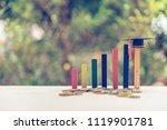 graduate study abroad program... | Shutterstock . vector #1119901781
