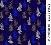 fern frond herbs  tropical... | Shutterstock .eps vector #1119914531