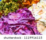 healthy organic food  salad ... | Shutterstock . vector #1119916115
