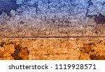 autumn background with leaf on... | Shutterstock . vector #1119928571