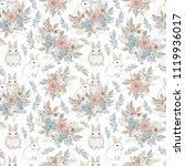 elegant background seamless... | Shutterstock . vector #1119936017