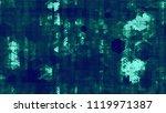digital futuristic information... | Shutterstock .eps vector #1119971387