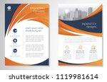 template vector design for... | Shutterstock .eps vector #1119981614