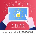 concept of general data... | Shutterstock .eps vector #1120000601