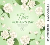 happy thai mother's day card... | Shutterstock .eps vector #1120005167