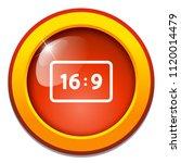 vector wide screen 16 9 icon  ... | Shutterstock .eps vector #1120014479