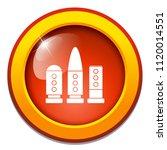 vector ammunition gun bullet.... | Shutterstock .eps vector #1120014551
