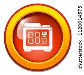 vector alarm clock  digital... | Shutterstock .eps vector #1120014575