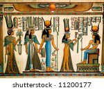 Papyrus Showing Queen Nefertar...