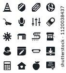 set of vector isolated black...   Shutterstock .eps vector #1120038437