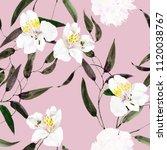 seamless watercolor pattern... | Shutterstock . vector #1120038767