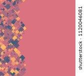 rhombus pink minimal geometric...   Shutterstock .eps vector #1120046081