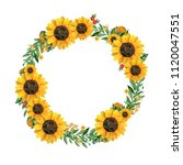 Watercolor Hand Painted Wreath...