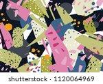 unusual horizontal backdrop... | Shutterstock .eps vector #1120064969